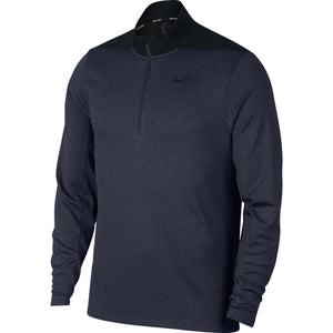 Nike Core Dri-Fit 1/2 zip top - Obsidian Blue