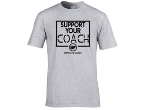 BFunctional | Support Your Coach Men's T shirt | Grey