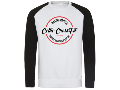 Celtic CrossFit | Unisex Sweatshirt | Black/ White