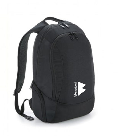 BFunctional | Backpack small Print | Black