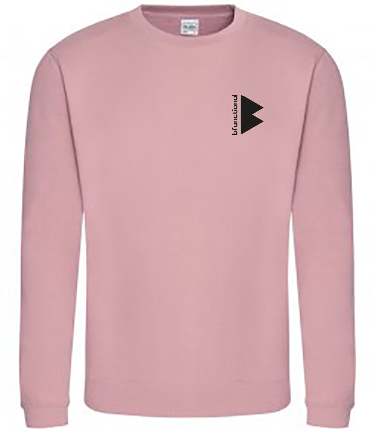 BFunctional | Unisex Sweatshirt | Dusty Pink