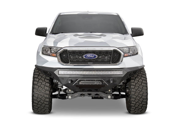 F221403030103 - 2019-2020 Ford Ranger ADD Stealth Fighter Front Off-Road Bumper (With Sensor Cutouts)