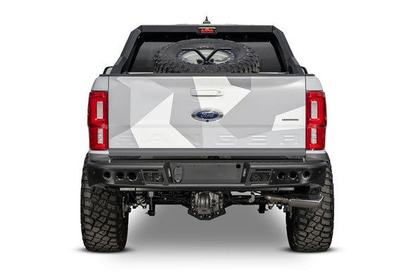 R222231280103 - 2019-2020 Ford Ranger ADD Venom Rear Off-Road Bumper (With Backup Sensors)