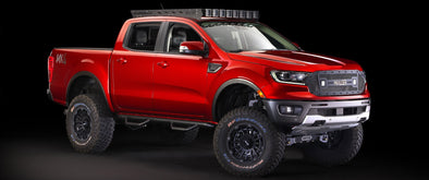 2019-2021 Ford Ranger Maxlider Edition Crew Cab Roof Rack By RazorRack