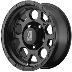 XDWXD12289060700A - KMC-XD 18x9 Series XD122 Enduro 6x5.5 Wheel 0 mm Offset