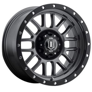 ICO1217858347GM - Icon Vehicle Dynamics 17x8.8 Alpha 6x5.5 Wheel 0mm Offset
