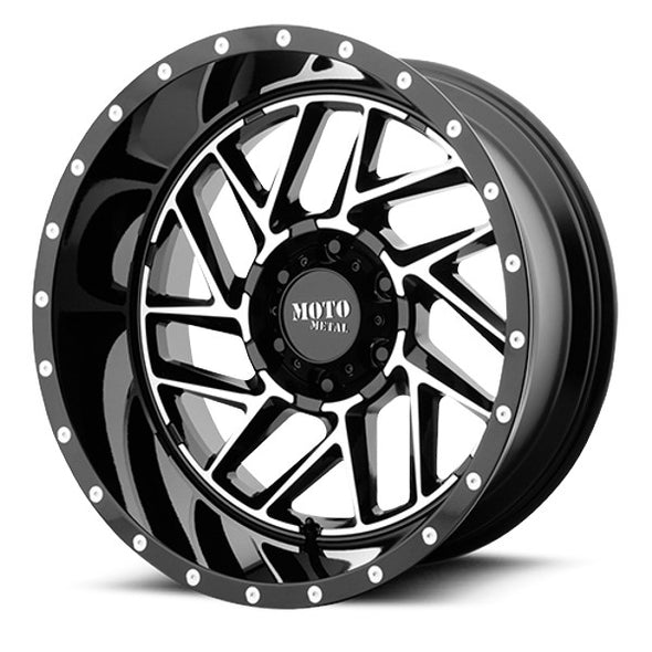 MMWMO98529068318 - 2019-2021 Ford Ranger Moto Metal 20x9 Breakout 6x5.5 Wheels 18 mm Offset
