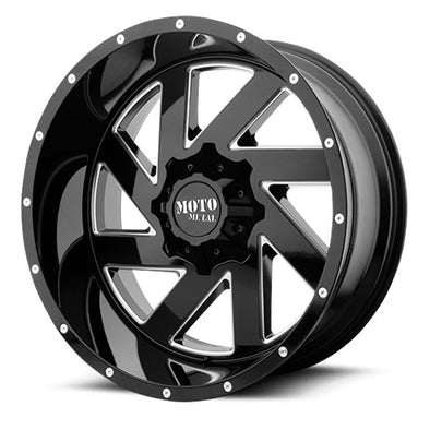 MMWMO98829067300 - Moto Metal 20x9 Melee 6x5.5 Wheels 0 mm Offset