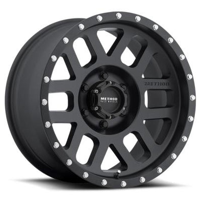 MRWMR30678560500 - Method Race 17x8.5 Mesh 6x5.5 BP Matte Black 0 mm Offset