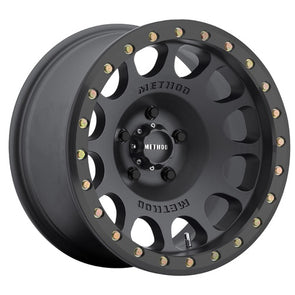 MRWMR10578560500B - Method Race 17x8.5 MR105 Beadlock 6x5.5 Wheel 0 mm Offset