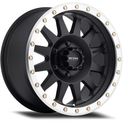 MRWMR30478560700 - Method Race 17x8.5 Double Standard 5x5.5 Wheel 0 mm Offset