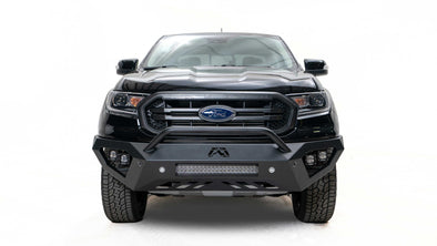 FFBFR19-D4851-1 - 2019-2020 Ford Ranger Fab Fours Vengeance Front Bumper With No Guard