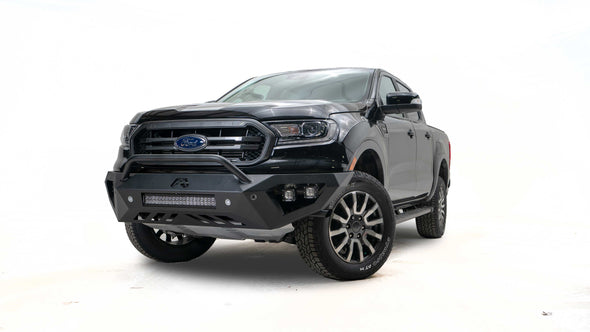 FFBFR19-D4851-1 - 2019-2021 Ford Ranger Fab Fours Vengeance Front Bumper With No Guard