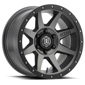 ICO1817858347TT - Icon Vehicle Dynamics 17x8.5 Rebound 6x5.5 Wheels 0 mm Offset