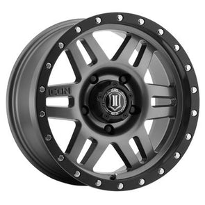 ICO1417858347GM - Icon Vehicle Dynamics 17x8.5 Six Speed 6x5.5 Wheels 0 mm Offset