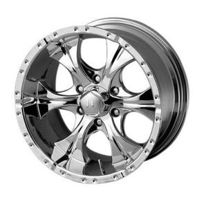 XDWHE7917960218AA - 2019-2021 Ford Ranger KMC-XD 17x9 Maxx Chrome 6x5.5 18 mm Offset
