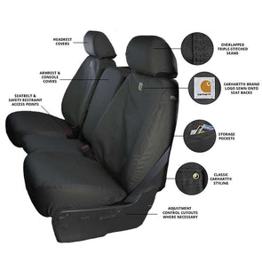 COVSSC2536CAGY - 2019-2020 Ford Ranger Carhartt SeatSaver Custom Seat Cover