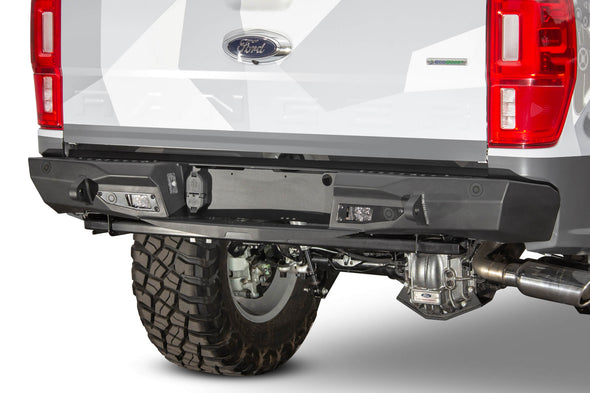 R221231280103 - 2019-2021 Ranger ADD Stealth Fighter Rear Off-Road Bumper (With Backup Sensors)