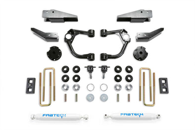"K2323 - 2019 Ford Ranger FabTech 3.5"" UCA Lift Kit with Intrusion Beams"