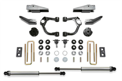 "K2323DL - 2019 Ford Ranger FabTech 3.5"" UCA Dirt Logic Lift Kit with Intrusion Beams"