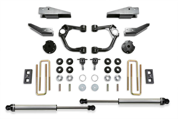 "K2323DL - 2019-2021 Ford Ranger FabTech 3.5"" UCA Dirt Logic Lift Kit with Intrusion Beams"