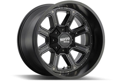 MMWMO98489067412N - Moto Metal 18x9 Shift 6x5.5 Wheels -12 mm Offset