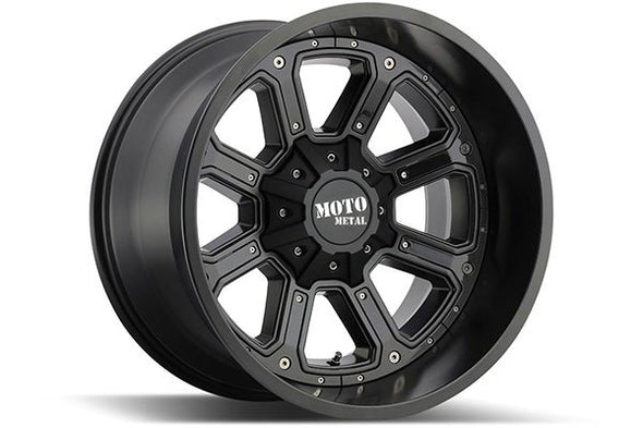 MMWMO98489067412N - 2019-2021 Ford Ranger Moto Metal 18x9 Shift 6x5.5 Wheels -12 mm Offset