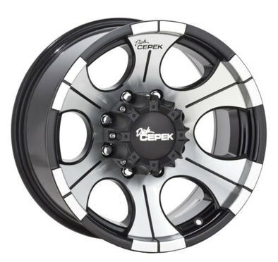 CEP90000000497 -  2019-2020 Ford Ranger Dick Cepek 17x9 DC II Black 6x5.5 Wheel 12 mm Offset