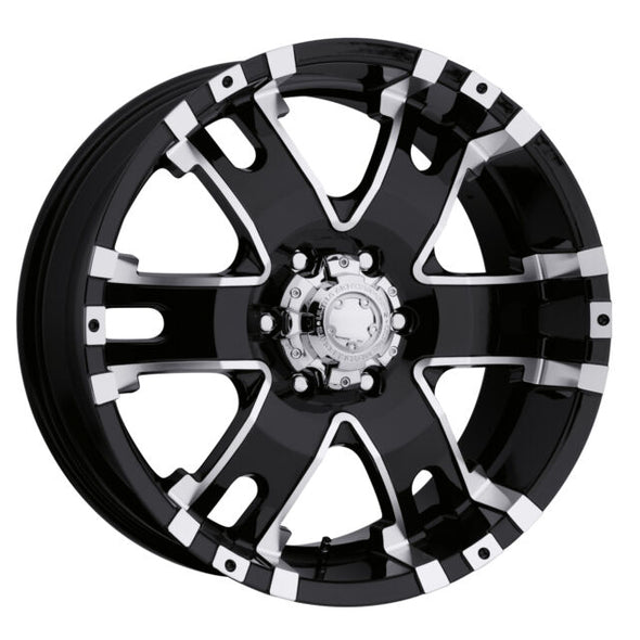 UWC202-8983B - Ultra Wheel 18x9 Ultra BS 6x5.5 Wheels +12 mm Offset