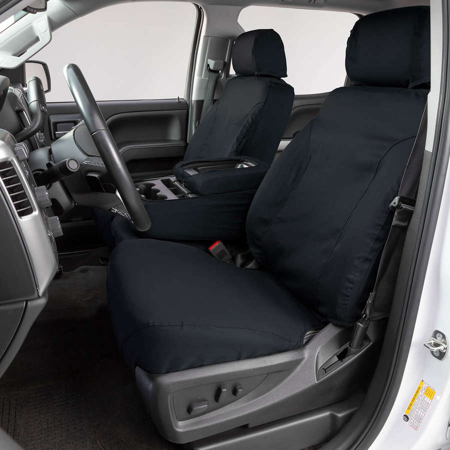CARNABY BLUE BLACK SEAT COVERS SET AIRBAG SAFE  FOR FORD RANGER