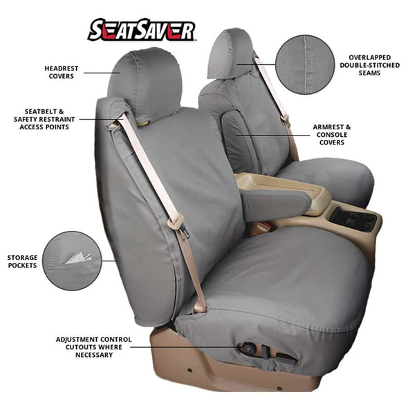 SS2536PC - 2019-2020 Ford Ranger Carhartt SeatSaver Custom Polycotton Seat Covers