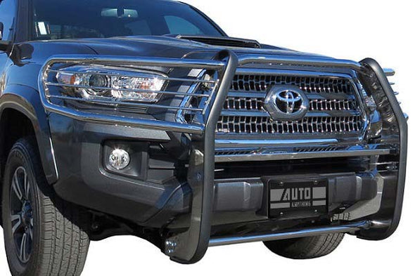 STC51177 - 2019-2020 Ford Ranger Steelcraft Automotive Stainless Steel Grille Guard
