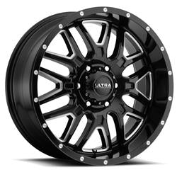 UWC203-7983BM+12 - 2019-2020 Ford Ranger Ultra 17x9 BS Gloss Black 6x5.5 Wheel 12 mm Offset