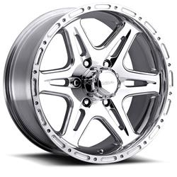 UWC208-7983P 2019-2020 Ford Ranger Ultra 17x9 BS Polished 6x5.5 Wheel 12 mm Offset