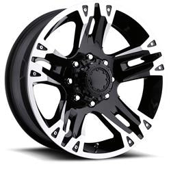 UWC235-8983B - Ultra Wheels 18x9 Ultra BS 6x5.5 Wheels +12 mm Offset