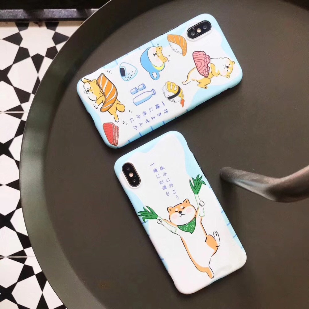 Shiba Inu Colorful Phone Case