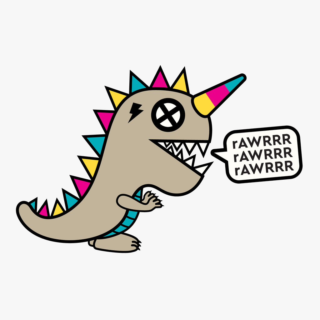 Dinocorn rAWRRR Graphic