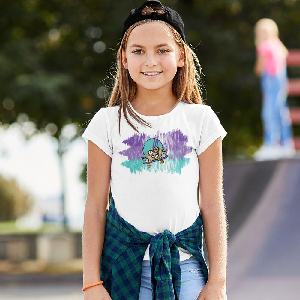 FluxxCo_Cookiehead_Youth_Tee_white_girl_at_skatepark