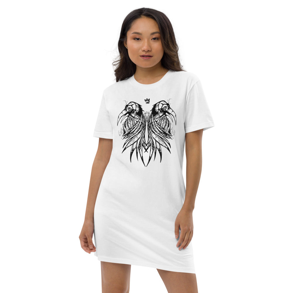 Royal Raven Tee Dress
