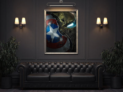IRON MAN canvas bosslogic