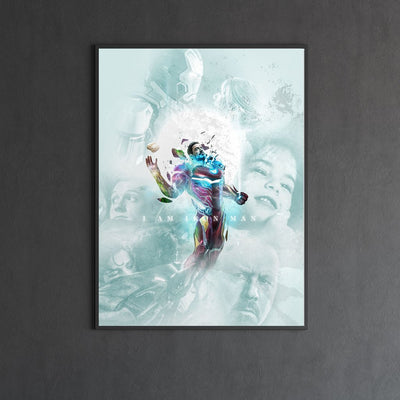 IRON MAN END GAME canvas end game bosslogic
