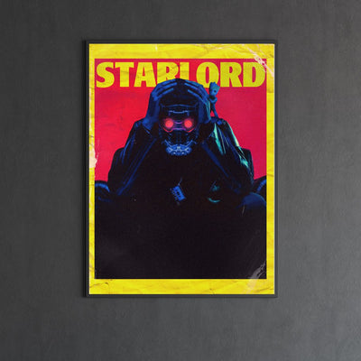 Starlord endgame canvas