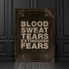 Blood Sweat and Tears - Art Print BossLogic