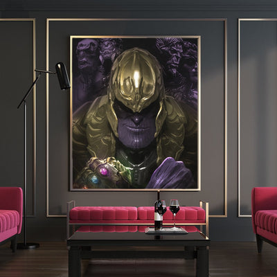 Thanos end game canvas bosslogic