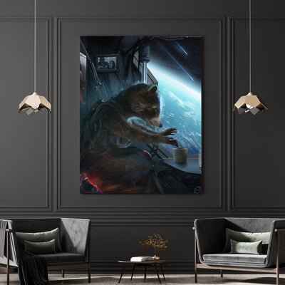 Farewell Rocket - Guardians of the Galaxy - canvas BossLogic