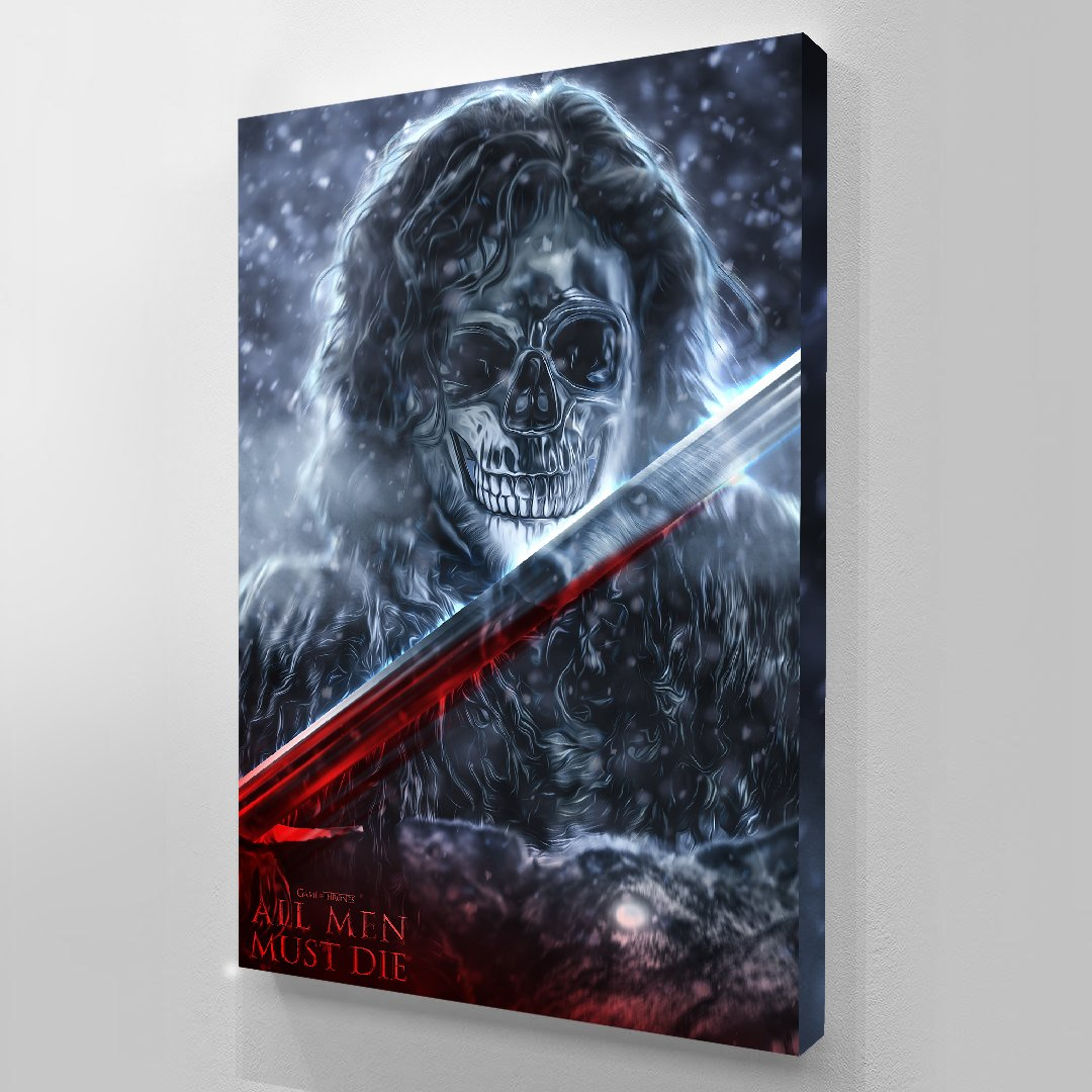 JON SNOW - GAME OF THRONES canvas bosslogic