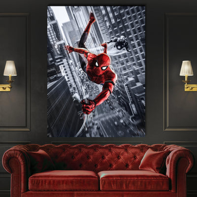 Home ! - Spider-Man canvas BossLogic