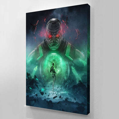 Green Lantern V Darkseid bosslogic