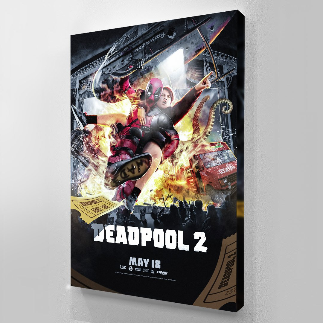 Deadpool 2 - Art Print BossLogic