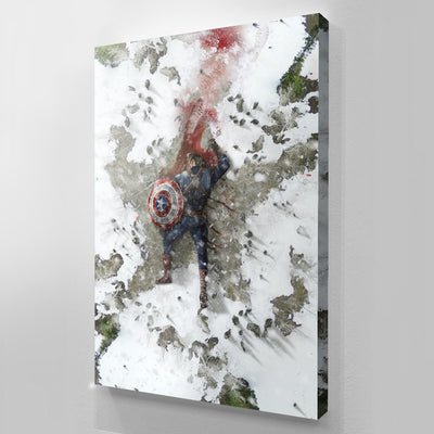 Captain America canvas bosslogic